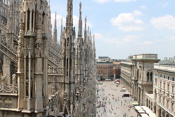 10 Panorami Da Vedere A Milano 1 Terrazze Del Duomo
