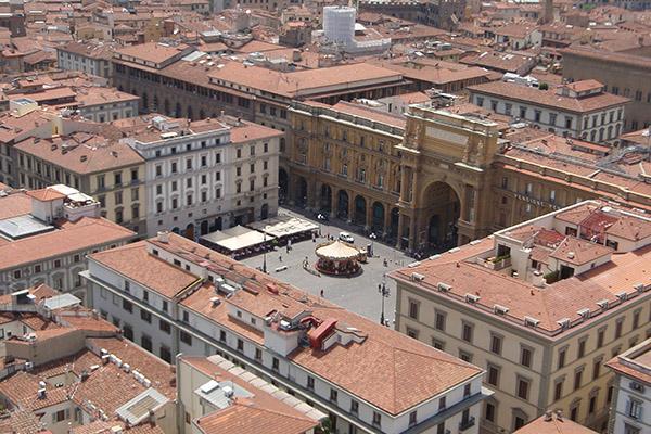 10 panorami da vedere a Firenze | #4 La Terrazza della Rinascente