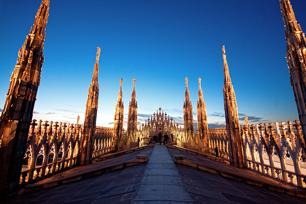 10 panorami da vedere a Milano | #1 Terrazze del Duomo