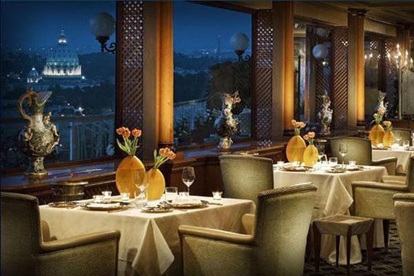 I 10 ristoranti con i panorami cittadini pi belli d - Pizzeria con giardino roma ...