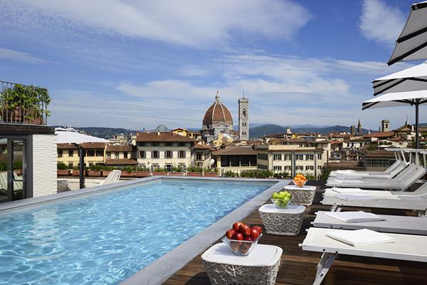 10 panorami da vedere a Firenze | #7 Terrazza Grand Hotel Minerva