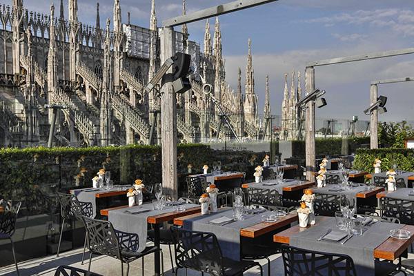 Terrazza Bar A Rinascente Da Milano5 10 Panorami Vedere vn0yNwm8O