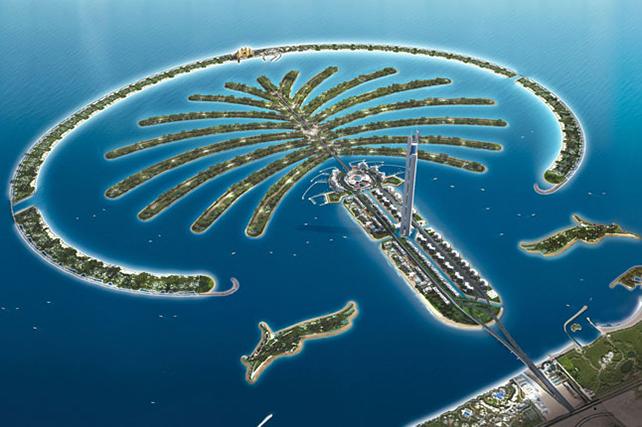 10 cose da vedere a dubai 9 arcipelago jumeirah la palma for Dubai cosa vedere in un giorno