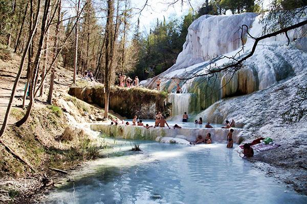 Le 10 terme naturali e libere pi belle d italia 2 - Terme di bagni san filippo ...