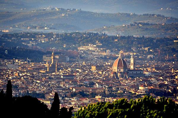 10 panorami da vedere a Firenze | #2 Terrazza di Fiesole
