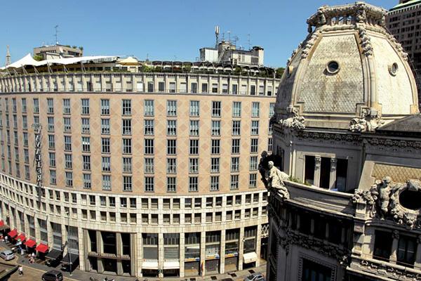 10 panorami da vedere a Milano | #6 Terrazza Hotel dei Cavalieri